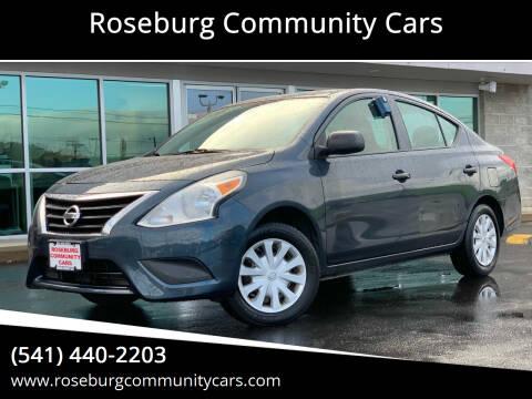 2015 Nissan Versa for sale at Roseburg Community Cars in Roseburg OR