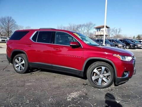 2018 Chevrolet Traverse for sale at Hawk Chevrolet of Bridgeview in Bridgeview IL