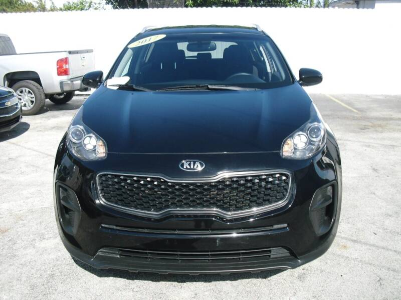 2017 Kia Sportage for sale at SUPERAUTO AUTO SALES INC in Hialeah FL
