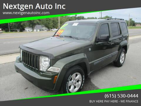 2009 Jeep Liberty for sale at Nextgen Auto Inc in Smithville TN