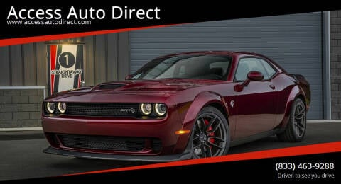 2018 Dodge Challenger for sale at Access Auto Direct in Baldwin NY