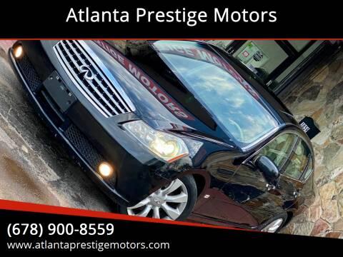 2007 Infiniti M35 for sale at Atlanta Prestige Motors in Decatur GA