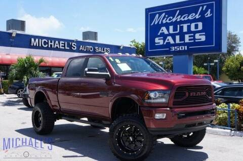 2018 RAM Ram Pickup 2500 for sale at Michael's Auto Sales Corp in Hollywood FL