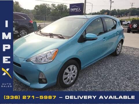 2014 Toyota Prius c for sale at Impex Auto Sales in Greensboro NC
