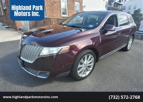 2011 Lincoln MKT for sale at Highland Park Motors Inc. in Highland Park NJ
