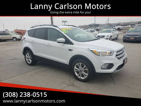 2018 Ford Escape for sale at Lanny Carlson Motors in Kearney NE
