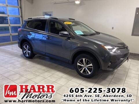 2017 Toyota RAV4 for sale at Harr's Redfield Ford in Redfield SD