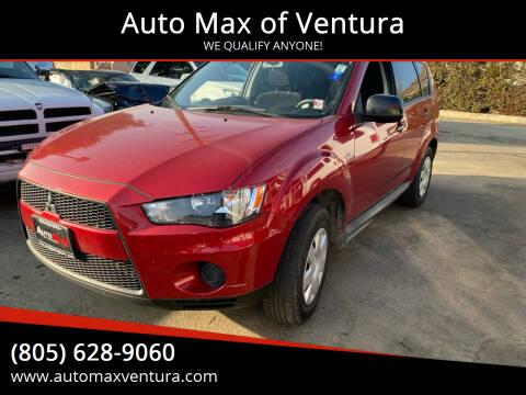 2010 Mitsubishi Outlander for sale at Auto Max of Ventura - Automax 3 in Ventura CA