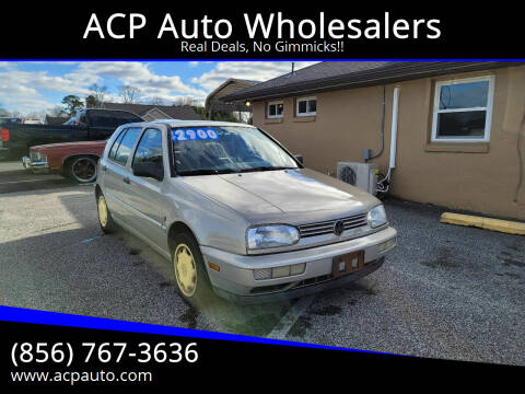 1995 Volkswagen Golf for sale at ACP Auto Wholesalers in Berlin NJ