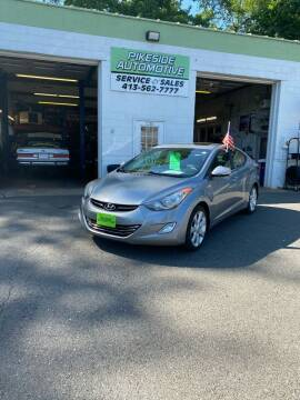 2013 Hyundai Elantra for sale at Pikeside Automotive in Westfield MA