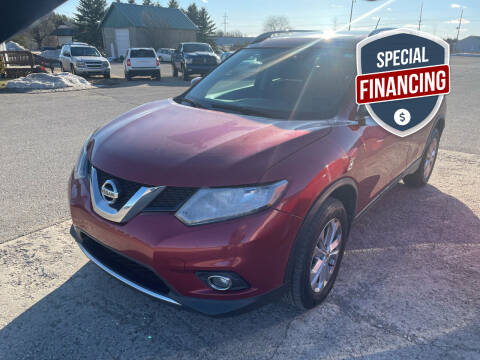 2016 Nissan Rogue for sale at Strait-A-Way Auto Sales LLC in Gaylord MI
