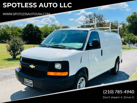2007 Chevrolet Express Cargo for sale at SPOTLESS AUTO LLC in San Antonio TX