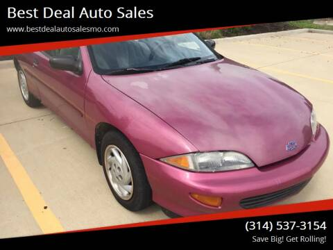 1995 Chevrolet Cavalier for sale at Best Deal Auto Sales in Saint Charles MO