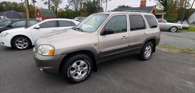 2002 Mazda Tribute for sale at J Wilgus Cars in Selbyville DE