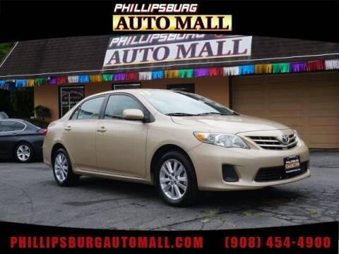 2013 Toyota Corolla for sale at Phillipsburg Auto Mall in Phillipsburg NJ