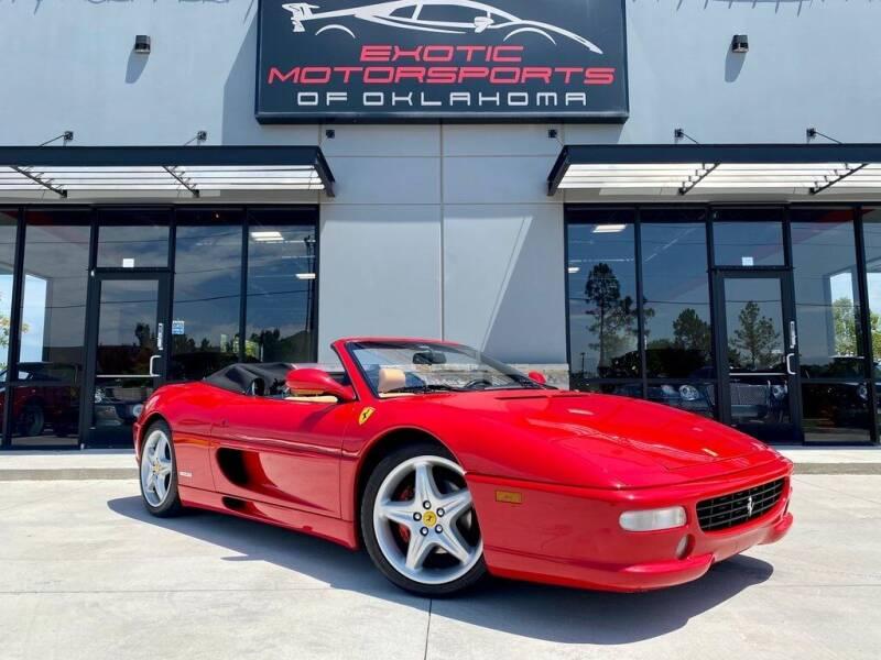 1998 Ferrari F355 for sale at Exotic Motorsports of Oklahoma in Edmond OK