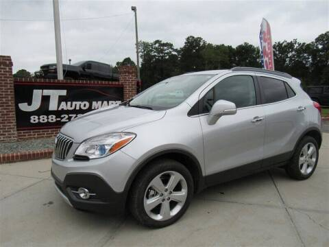 2016 Buick Encore for sale at J T Auto Group in Sanford NC