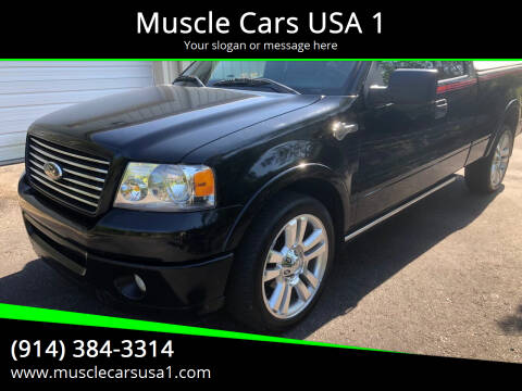 2006 Ford F-150 for sale at Muscle Cars USA 1 in Murrells Inlet SC