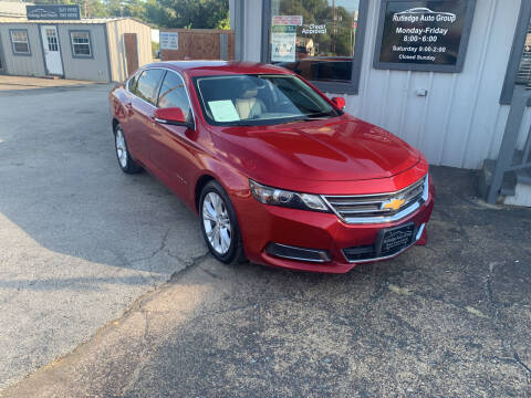 2015 Chevrolet Impala for sale at Rutledge Auto Group in Palestine TX