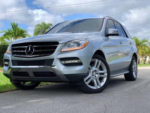 2013 Mercedes-Benz M-Class for sale at HIGH PERFORMANCE MOTORS in Hollywood FL
