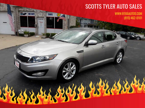 2013 Kia Optima for sale at Scotts Tyler Auto Sales in Wilmington IL