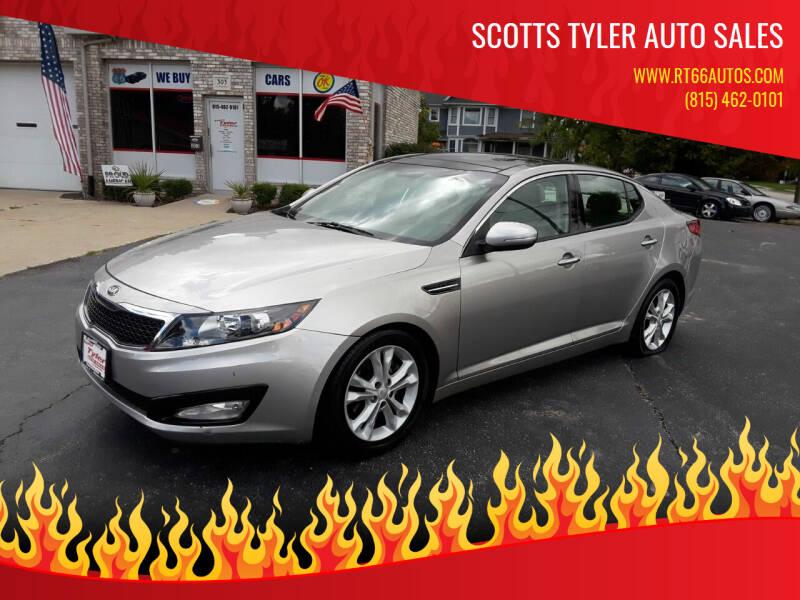 2013 Kia Optima for sale at Scotts Tyler Auto Sales in Wilmington IL