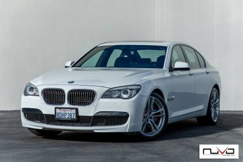 2012 BMW 7 Series for sale at Nuvo Trade in Newport Beach CA