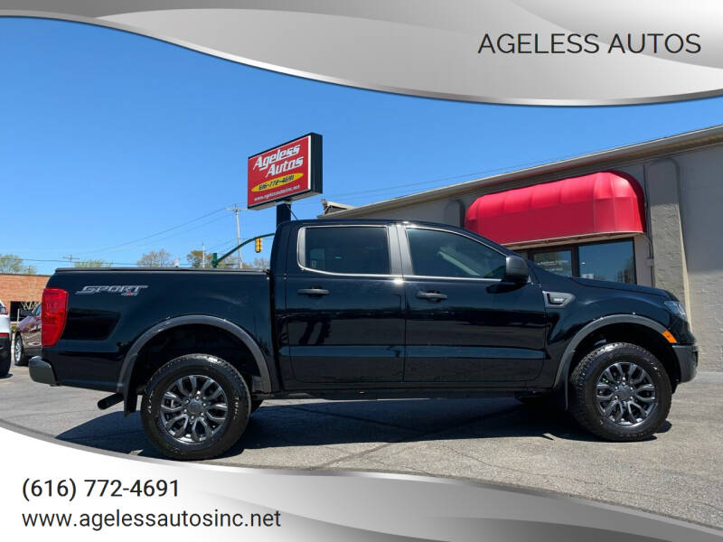 2020 Ford Ranger for sale at Ageless Autos in Zeeland MI