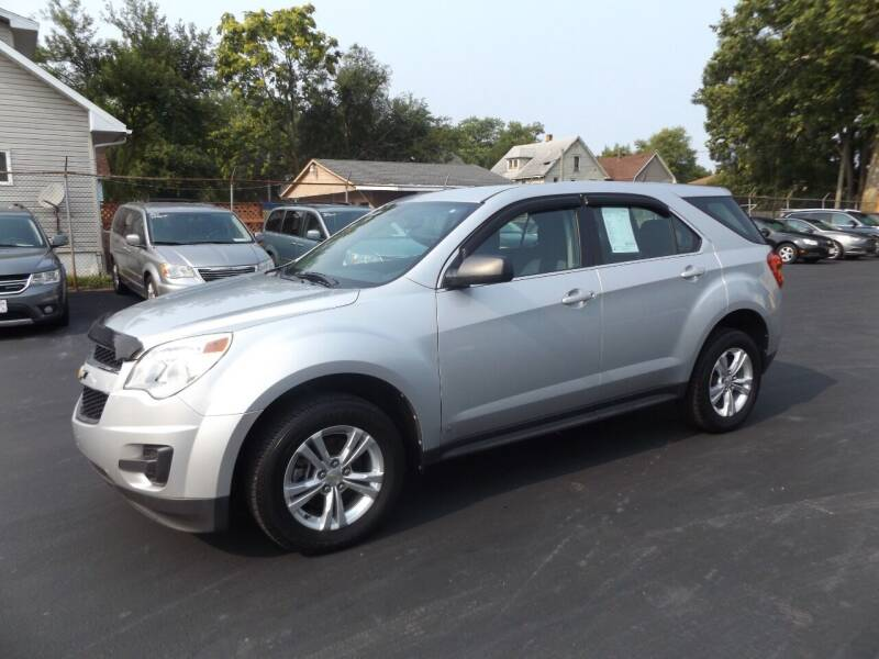 2010 Chevrolet Equinox for sale at Goodman Auto Sales in Lima OH