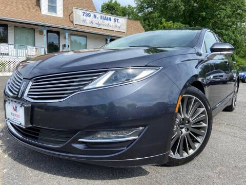 2014 Lincoln MKZ for sale at Mega Motors in West Bridgewater MA
