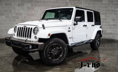 2016 Jeep Wrangler Unlimited for sale at J-Rus Inc. in Macomb MI