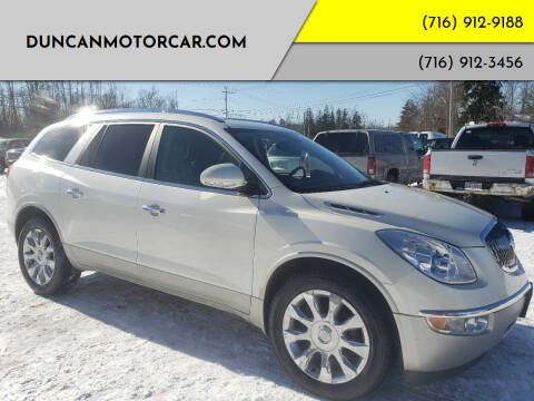 2012 Buick Enclave for sale at DuncanMotorcar.com in Buffalo NY