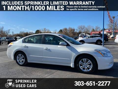 2010 Nissan Altima for sale at Sprinkler Used Cars in Longmont CO