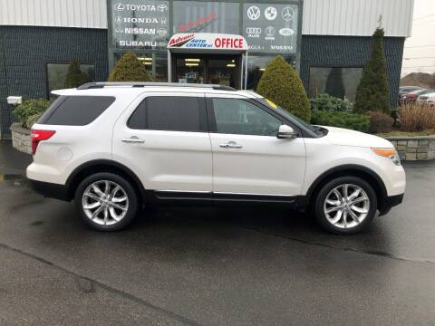 2012 Ford Explorer for sale at Advance Auto Center in Rockland MA