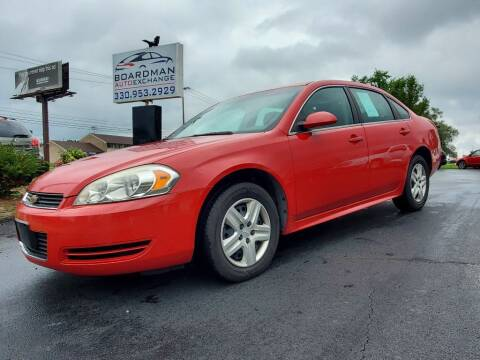 2010 Chevrolet Impala for sale at Boardman Auto Exchange in Youngstown OH