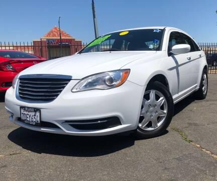 2014 Chrysler 200 for sale at LUGO AUTO GROUP in Sacramento CA