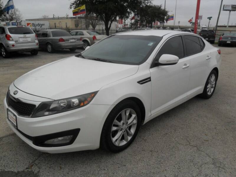 2013 Kia Optima for sale at Talisman Motor City in Houston TX