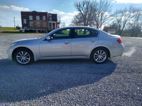 2009 Infiniti G37 Sedan for sale at Dealz on Wheelz in Ewing KY