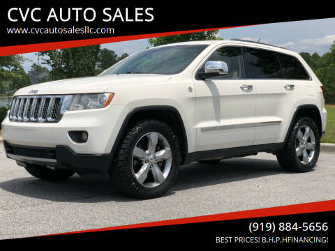 2011 Jeep Grand Cherokee for sale at CVC AUTO SALES in Durham NC