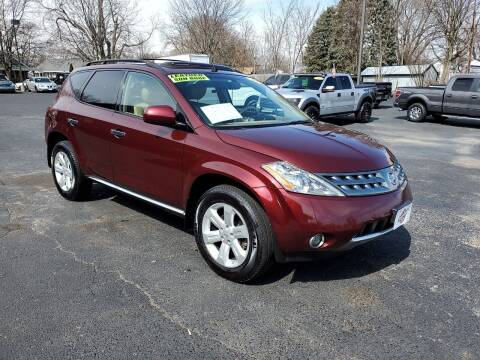 2007 Nissan Murano for sale at Stach Auto in Janesville WI