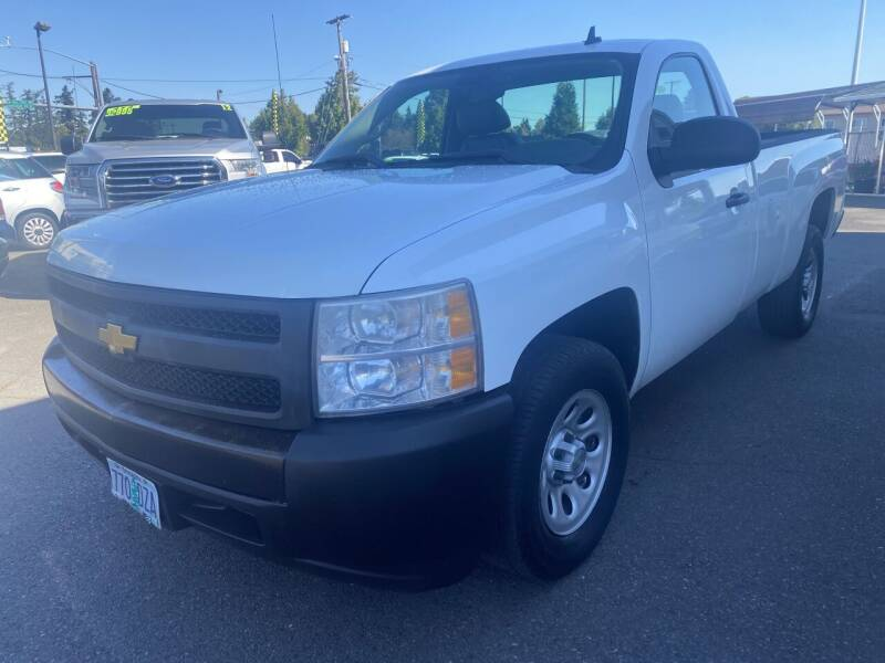 2008 Chevrolet Silverado 1500 for sale at Salem Motorsports in Salem OR