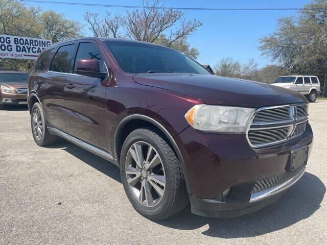 2012 Dodge Durango for sale at Hi-Tech Automotive West in Austin TX