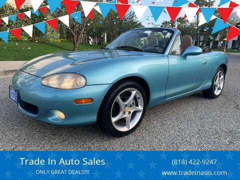 2002 Mazda MX-5 Miata for sale at Trade In Auto Sales in Van Nuys CA