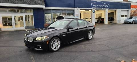 2014 BMW 5 Series for sale at Import Autowerks in Portsmouth VA