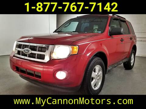 2010 Ford Escape for sale at Cannon Motors in Silverdale PA