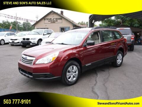 2011 Subaru Outback for sale at Steve & Sons Auto Sales in Happy Valley OR