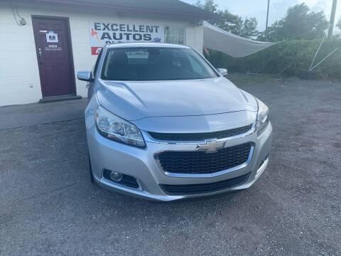 2014 Chevrolet Malibu for sale at Excellent Autos of Orlando in Orlando FL