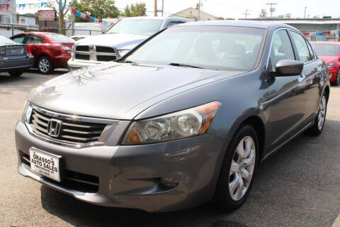 2008 Honda Accord for sale at Grasso's Auto Sales in Providence RI