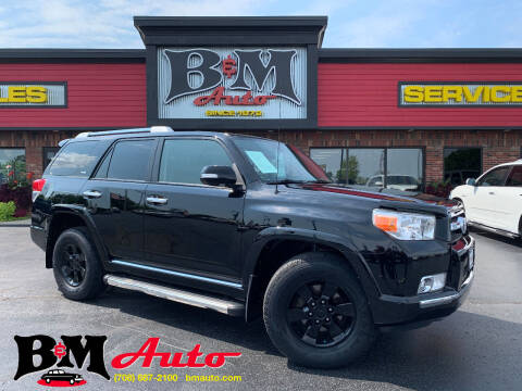2013 Toyota 4Runner for sale at B & M Auto Sales Inc. in Oak Forest IL