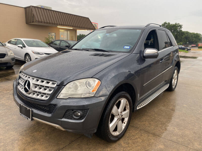 2010 Mercedes-Benz M-Class for sale at Houston Auto Gallery in Katy TX